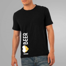 I love beer - Herrenshirt